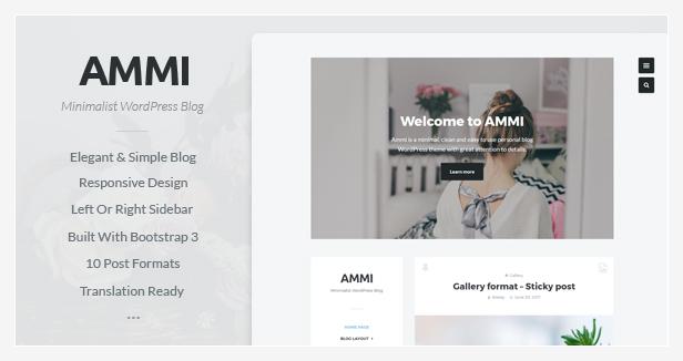 Ammi WordPress Theme